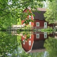 Kvarnen i Knällsberg - Knällsberg Watermill