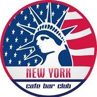 New YORK cafe bar club