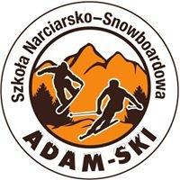 """""""ADAM-SKI""""  Szkoła Narciarsko - Snowboardowa"""