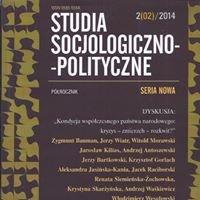 Studia Socjologiczno-Polityczne. Seria Nowa