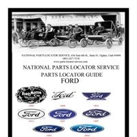 Flathead Ford Parts: National Parts Locator Service