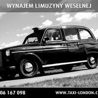 Taxi London - auto do ślubu, limuzyna weselna
