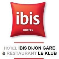 Ibis Dijon Gare & Restaurant Le Klub