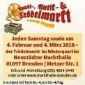 Kunst-, Antik- und Trödelmarkt am Haus der Presse Dresden
