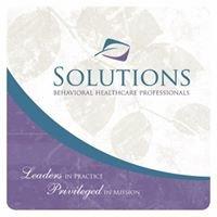 Solutions Behavioral Healthcare Professionals