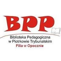 Biblioteka Pedagogiczna w Piotrkowie Trybunalskim Filia w Opocznie