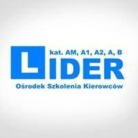 Ośrodek Szkolenia Kierowców LIDER