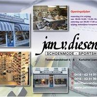 Jan van Diesen schoenmode - sportshop