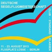 Deutsche Segelflugmeisterschaft 2013 der Club- und Standardklassen