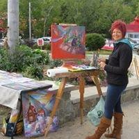 Artiste peintre Suzanne Claveau