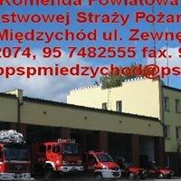 Komenda Powiatowa Państwowej Straży Pożarnej w Międzychodzie