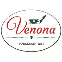 Venona maľovaný porcelán / hand painted porcelain