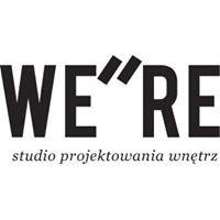 WE 'RE  Studio projektowania wnętrz