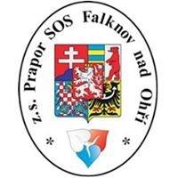 Prapor SOS Falknov nad Ohří