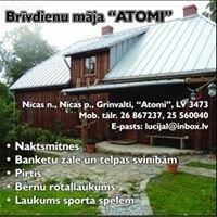Atomi brīvdienu māja