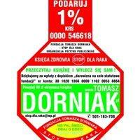 """Tomasz Dorniak """"Stop dla raka i GMO"""", """"Nie pal śmieci - dbaj o dzieci""""."""