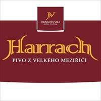Pivo Harrach, Jelínkova vila  hotel - pivovar