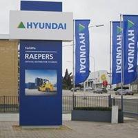 Hyundai forklifts - Raepers NV