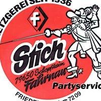 Metzgerei + Partyservice Stich