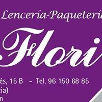LENCERIA FLORI