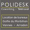 Polidesk : Coworking & Location de bureaux à Vannes - Arradon