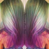 Platinum Pixie Hair Design