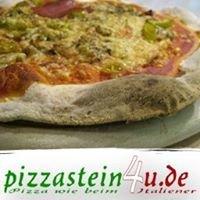 pizzastein4u - Pizza wie beim Italiener mit dem ORIGINAL Pizzastein