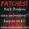 Rock Broderii Brasov Patch-uri Brodate Broderie Brasov Embroidered Patches