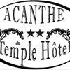 Acanthe du Temple Hôtel