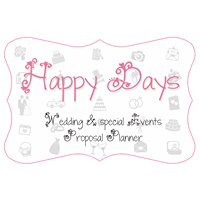HAPPY DAYS Wedding & special Events