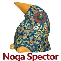 נוגה ספקטור - אמנות בפסיפס ופיסול סביבתי. Noga Spector MosaicArt