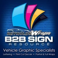 B2B Sign Resource & Reynolds Wraps