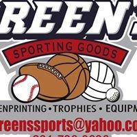 Green's Sporting Goods LLC