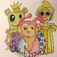 Sweet Issues Art By Holla Watson