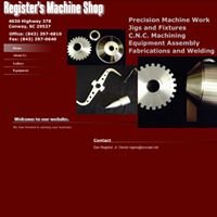 Registers Machine Shop