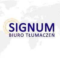 Biuro Tłumaczeń Signum