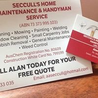 Seccull's Home Maintenance & Handyman Service