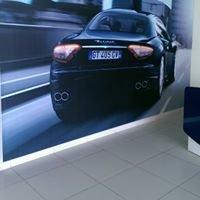 Ferrari And Maserati Showroom