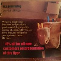 M.C.Plastering and handyman services