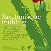 SAX FOR FUN - Das Wuppertaler Saxophonorchester