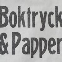 Boktryck & Papper
