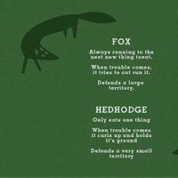 Ræven og pindsvinet