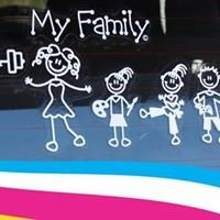 The Sticker Family - Danmark