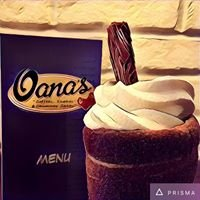 "Oana's ""Coffees,Shakes & Chimney Cakes"""