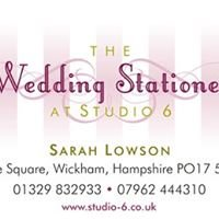 The Wedding Stationer at Studio 6