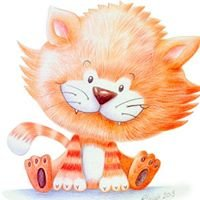 Small Fat Orange Cat