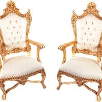 Royal Wedding Throne Hire
