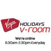Virgin Holiday v-room Manchester