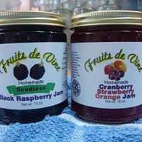Fruits de Vine Jams and Jellies