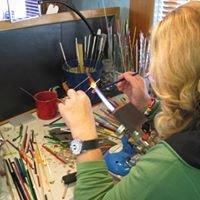 Lesley Mciver Art Glass Beads